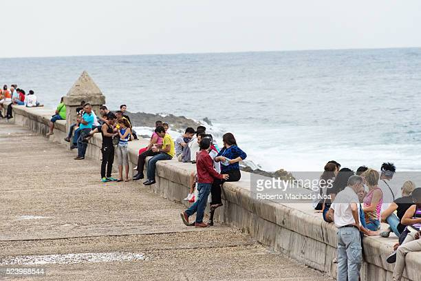 Cuba tourism The Malecon or El Malecon is a meeting point for tourists and locals The landmark is also an inexpensive recreation area to escape from...