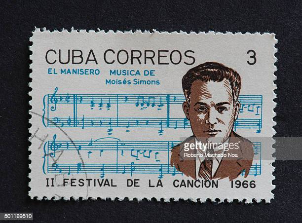 Cuban 1966 stamp on El Manisero by Moises Simons Stamp commemorating second Festival de la Cancion of 1966 El manisero known in English as The Peanut...