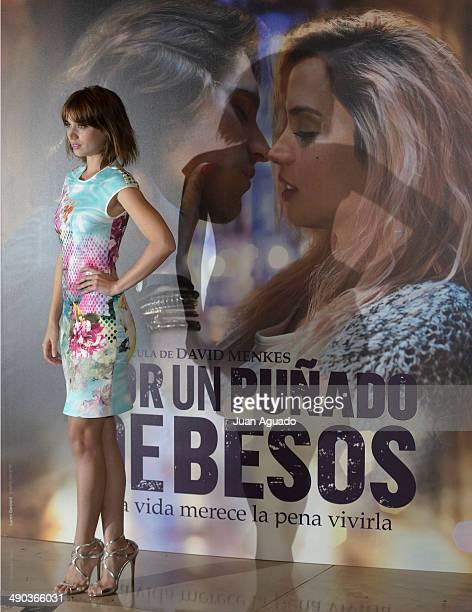 Cuban Actress Ana de Armas during the 'Por un Punado de Besos' Madrid Photocall on May 14 2014 in Madrid Spain