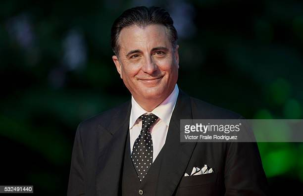 Cuban American Hollywood's actor Andy Garcia attends the red carpet event during the Opening Ceremony of the Mission Hills World Celebrity ProAm at...