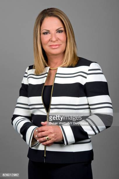 Cuban American lawyer and Hispanic television arbitrator Ana Maria Polo is photographed for NY Daily News on May 16 in New York City