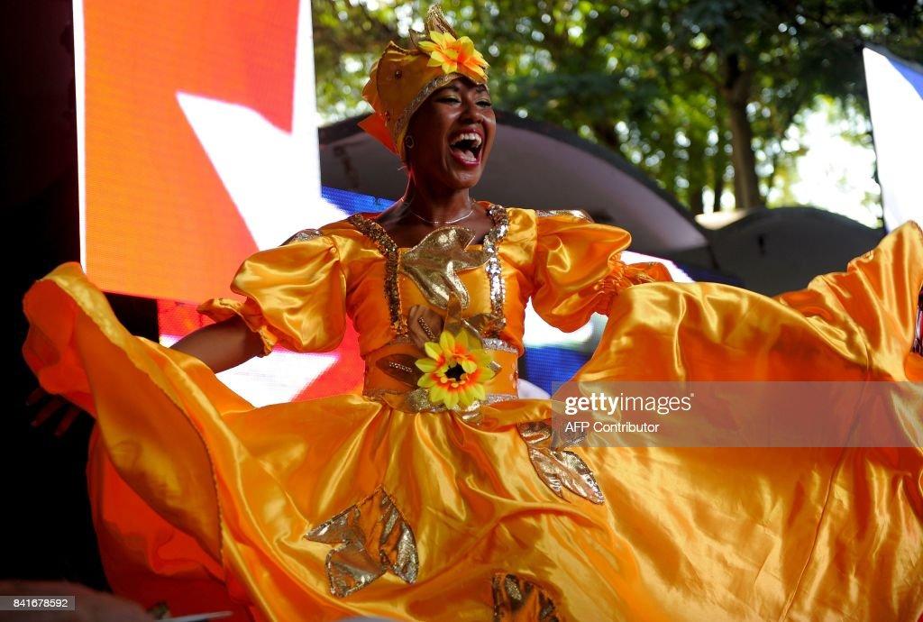 CUBA-MUSIC-FIDEL-RUMBA : News Photo