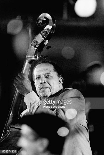 Cuban bass player Israel Lopez Cachao performs at the North Sea Jazz Festival in the Hague, Netherlands on 15th July 1995.