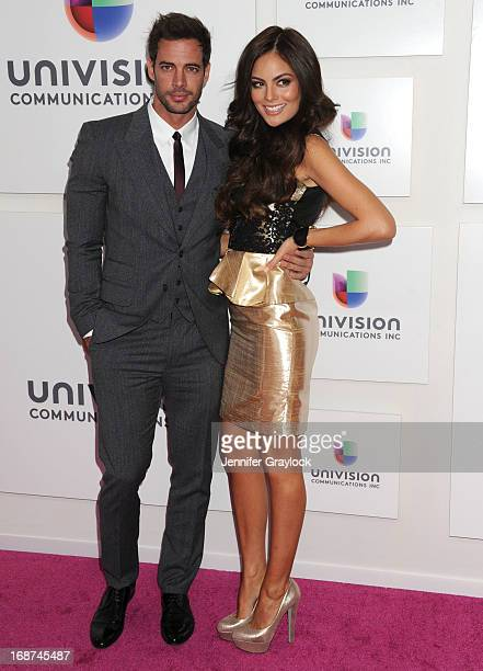 Cuban born Actor William Levy and Mexican Actress Ximena Navarrete attends the 2013 Univision Upfront Presentation at Espace on May 14 2013 in New...