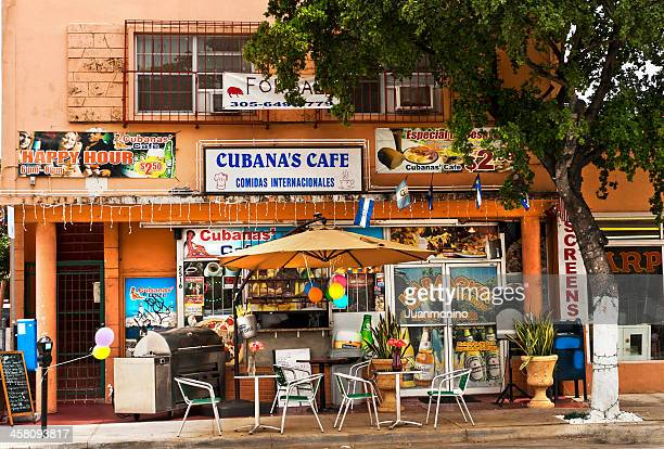 cubanas cafe - miami stock pictures, royalty-free photos & images