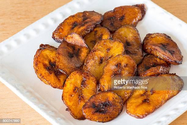 Cuban cuisine: Deep fried ripe plantains