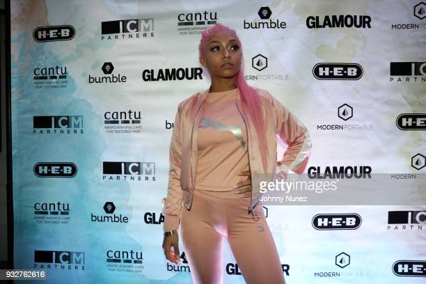 Cuban Doll attends The 7th Annual ICM x Cantu Official SXSW Showcase Presented by Bumble at The Belmont on March 15 2018 in Austin Texas