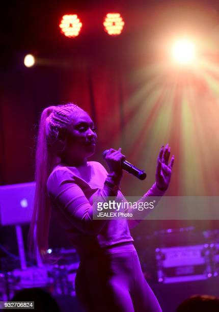 Cuban Doll performs onstage at ICM All Female Event during SXSW at The Belmont on March 15 2018 in Austin Texas