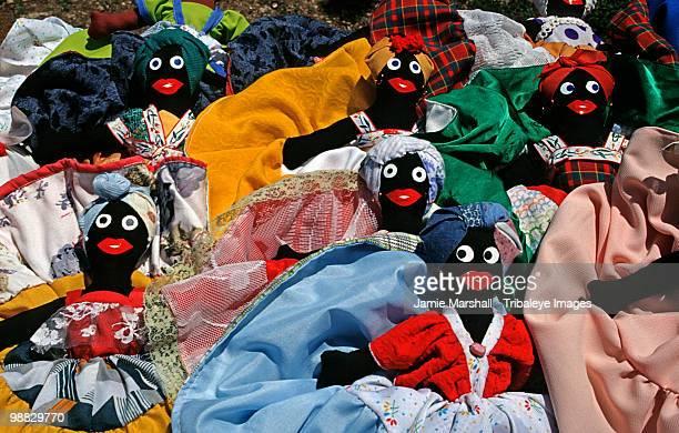 cuban dolls sold as souvenirs, varadero, cuba - cuban doll stock pictures, royalty-free photos & images