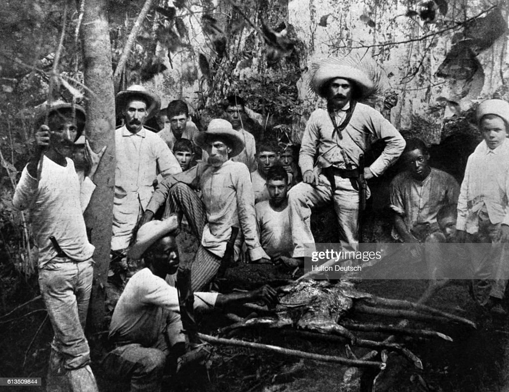 Cuban Independence Fighters : News Photo