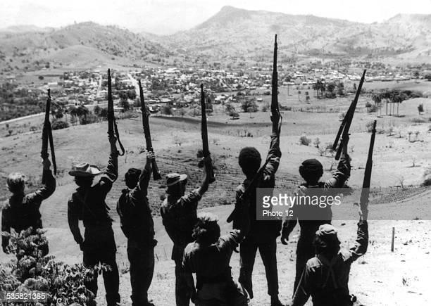 Cuban film 'The young rebel' Cuban guerillas during the Revolution 20th century Cuba