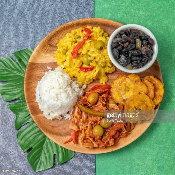 Cuban food plate