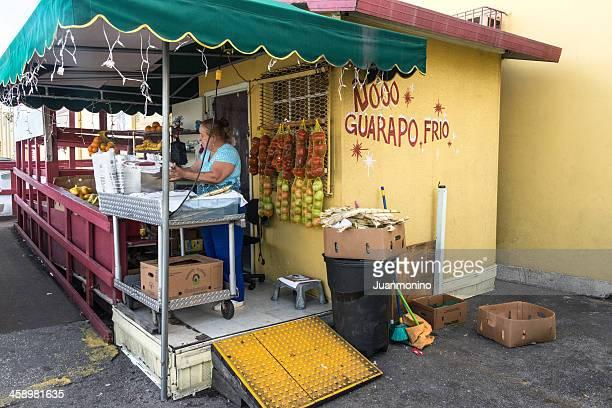Cuban étals de fruits en Hialeah (Floride)