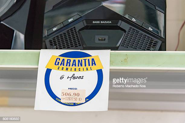 Cuban Internal CommerceStereo for sale at Cuban store priced at 506 CUC which is equivalent to 506 USD Prices of imported commodities are very high...