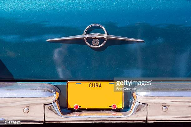 cuban licence plate - bumper stock pictures, royalty-free photos & images
