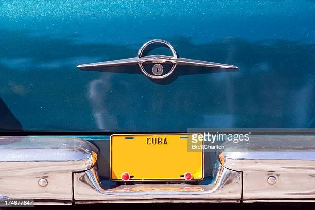 Kubanische Lizenz Plate