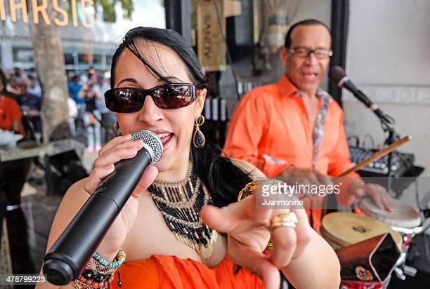 Kubanische Musik an der Calle Ocho