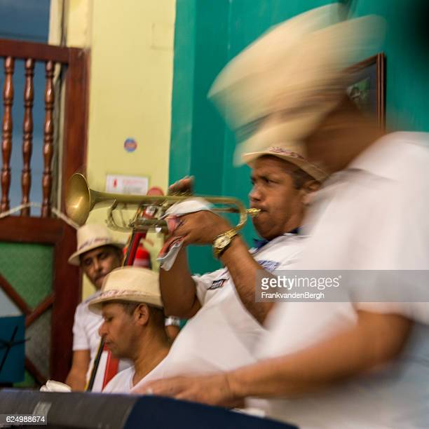 cuban music group - rumba stock photos and pictures