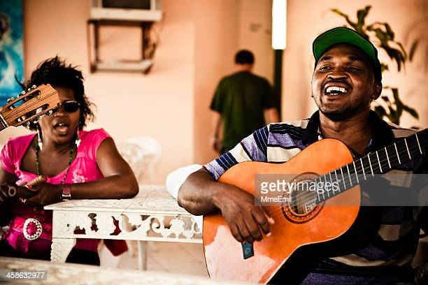 cuban musicians - varadero beach stock pictures, royalty-free photos & images