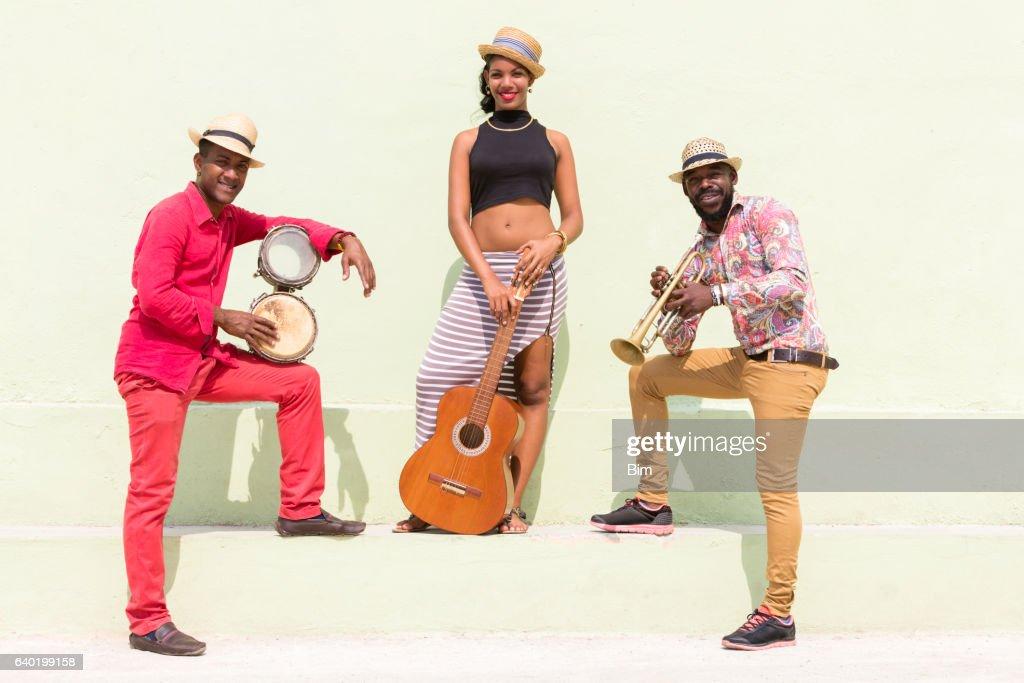 Cuban Musicians : Stock Photo