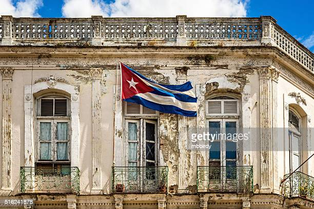 cuban national flag - santa clara cuba stock pictures, royalty-free photos & images