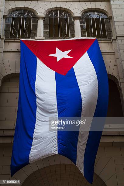 cuban national flag - cuban flag stock pictures, royalty-free photos & images