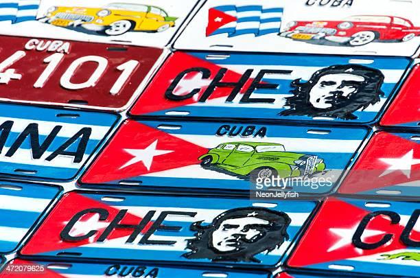 Cuban Number Plates