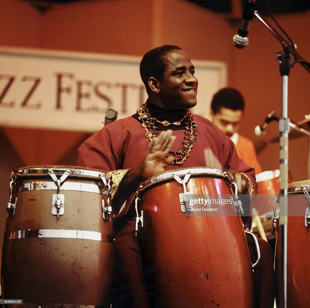 Mongo Santamaria Live At 1967 Newport Jazz Festival : News Photo