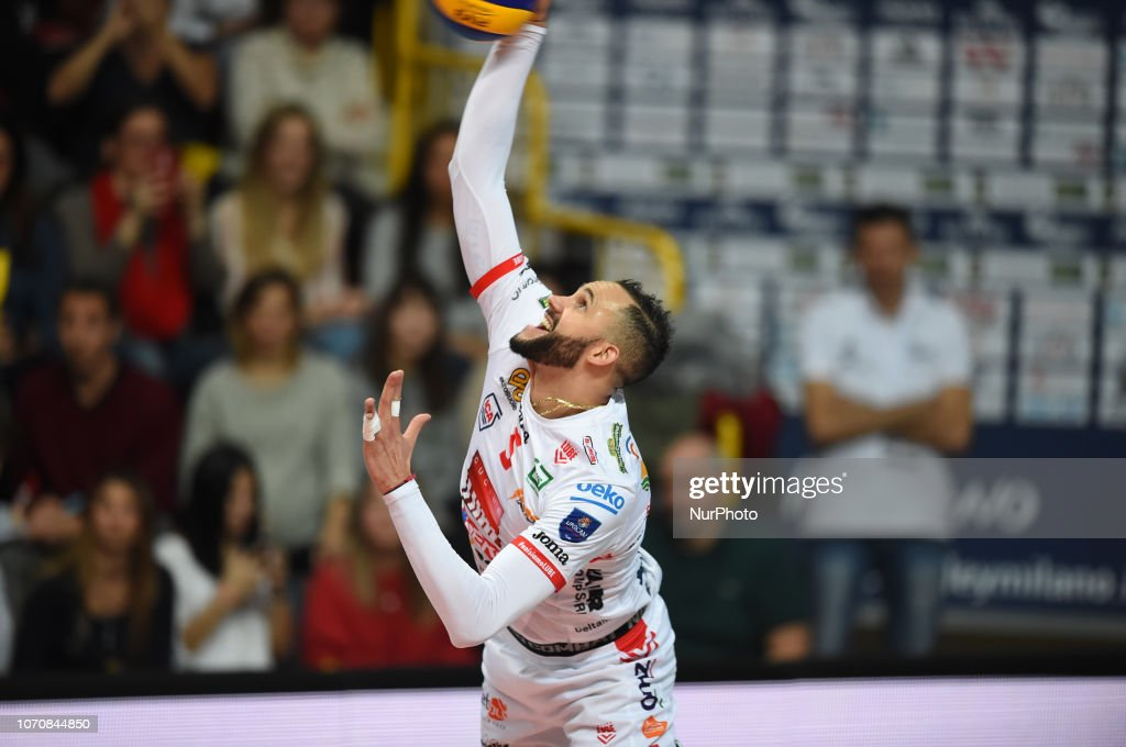 Cuban player of Cucine Lube Civitanova Osmany Juantorena ...