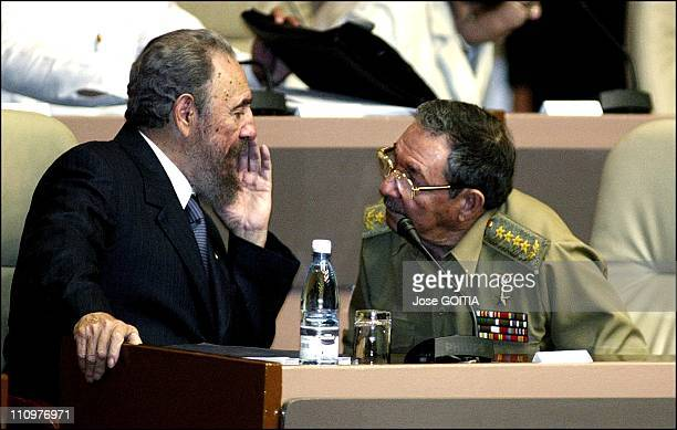 Cuban President Fidel Castro is seen on this 2005 picture with his brother Raul Castro The Cuban TV announced this July 31th 2006 that Fidel Castro...