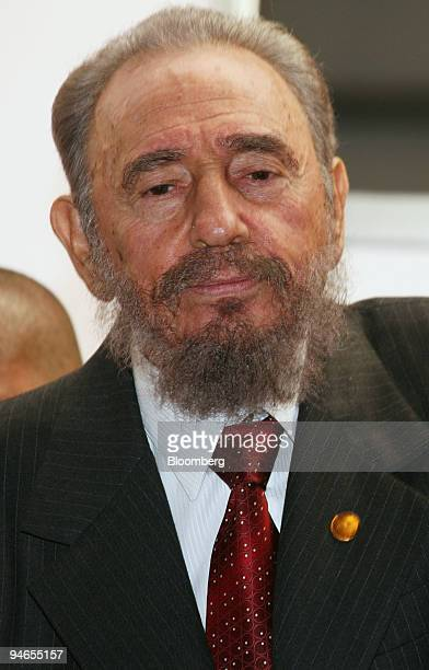Cuban President Fidel Castro speaks to the media during the Mercosur Summit in Cordoba Argentina Friday July 21 2006 Cuban President Fidel Castro in...