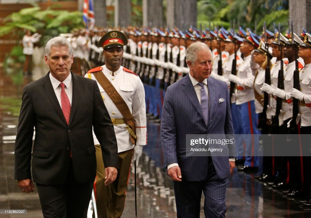 The Prince Of Wales And Duchess Of Cornwall In Cuba : News Photo