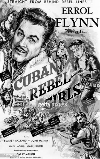 Cuban Rebel Girls poster Errol Flynn Beverly Aadland 1959