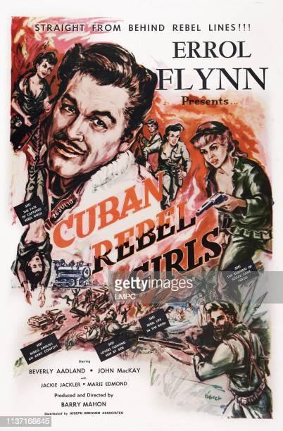 Cuban Rebel Girls poster US poster art Errol Flynn Beverly Aadland 1959
