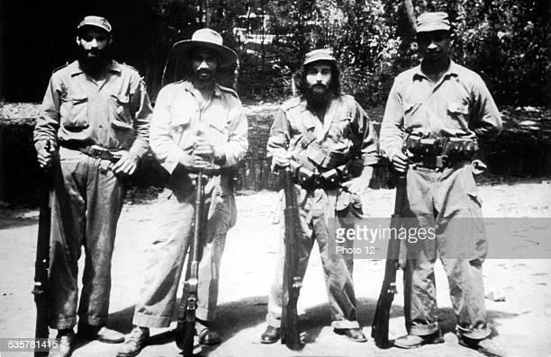 Cuban Revolution Group of Guerillas 20th century Cuba