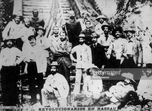Cuban revolutionaries in Nassau December 1895 waiting to come out of Cuba in an expedition Eduardo Yero Pedro Batancourt Cosme de la Torriente Martin...