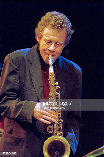 Cuban saxophone player Tony Martinez performs on June 14th 2001 at the BIM huis in Amsterdam, Netherlands.