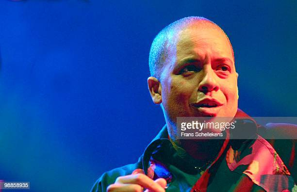 Cuban singer Isaac Delgado performs live on stage at the North Sea Jazz Festival in Ahoy, Rotterdam, Netherlands on July 14 2006