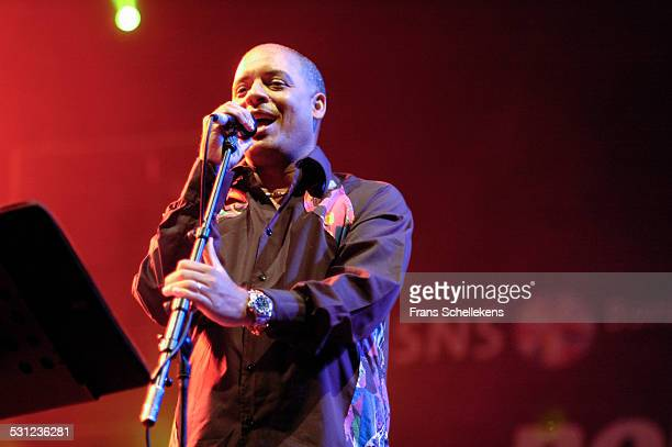 Cuban singer Issac Delgado performs at the North Sea Jazz Festival in Ahoy on July 14th 2006 in Rotterdam Netherlands