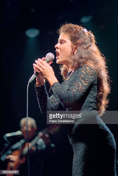 Cuban singer Leyanis Lopez performs at the Melkweg on December 3rd 1999 in Amsterdam, Netherlands.