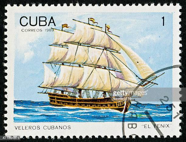carimbo de cubano - selo postal - fotografias e filmes do acervo