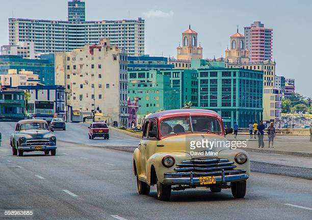 Cuban Taxi along the Malecon