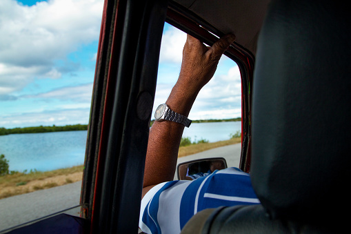 Cuban Taxi Driver - gettyimageskorea