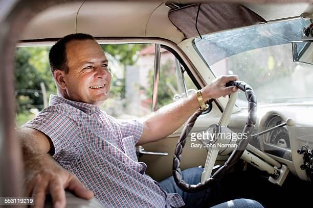 Cuban taxi driver