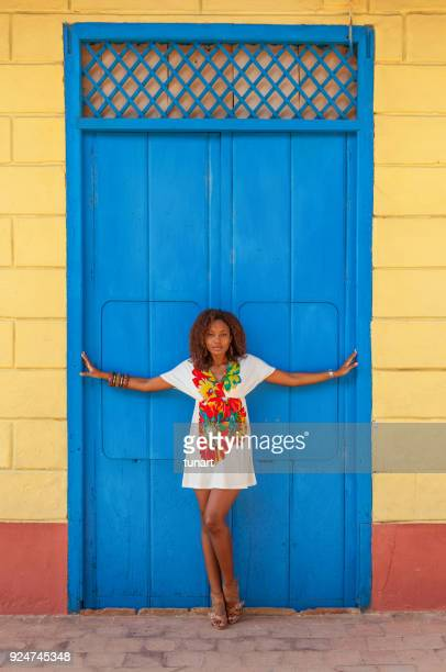 cuban woman in trinidad, cuba - cuban culture stock pictures, royalty-free photos & images