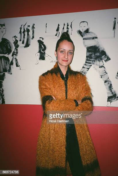 CubanAmerican fashion designer Isabel Toledo at the Fashion Institute of Technology New York City circa 2000