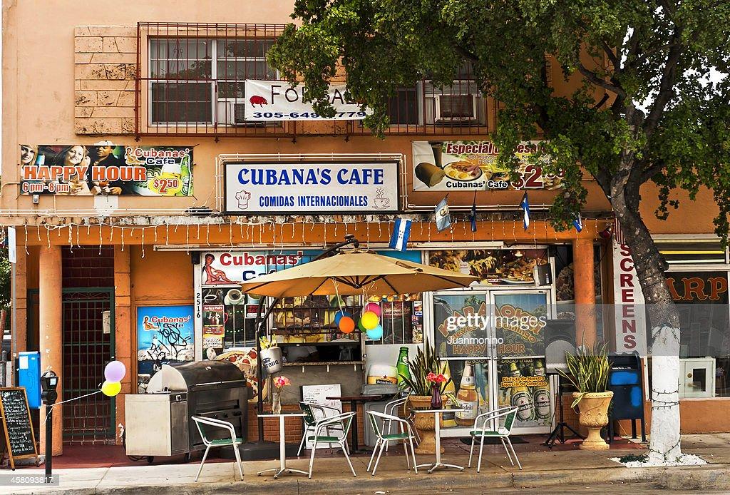 Cubanas Cafe : Stock Photo
