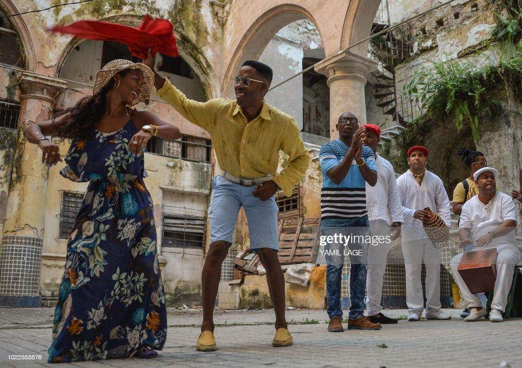 DOUNIAMAG-CUBA-MUSIC-RUMBA-HERITAGE : News Photo
