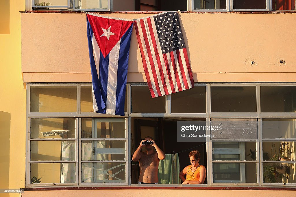 John Kerry Opens American Embassy In Havana, Cuba : ニュース写真