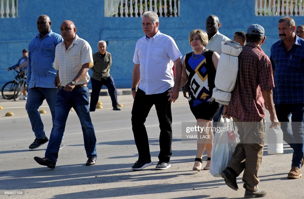 CUBA-ELECTION-DIAZ-CANEL : News Photo